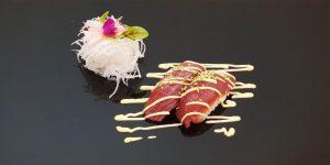 Nigiri ton, maioneza si susan gust wasabi