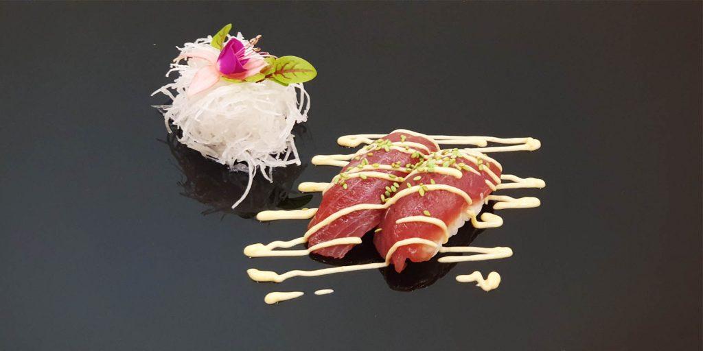 nigiri wasabi