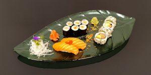 Mini salmon set